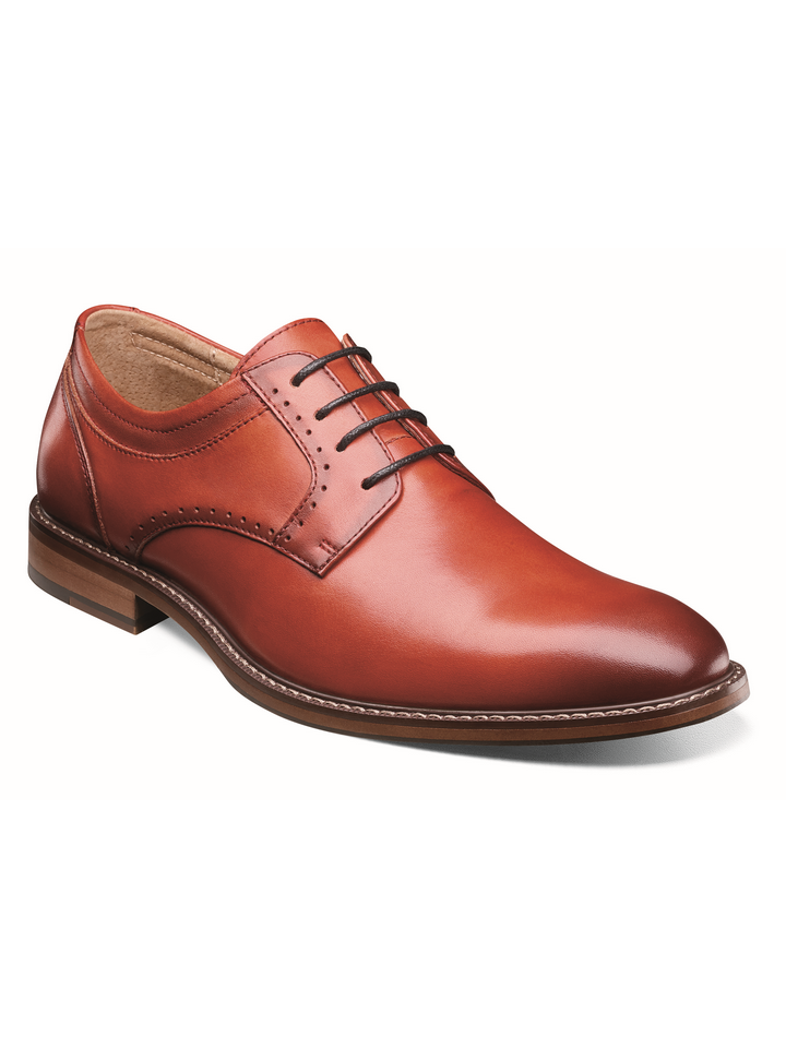 FAULKNER PLAIN TOE OXFORD CRANBERRY STACY ADAMS