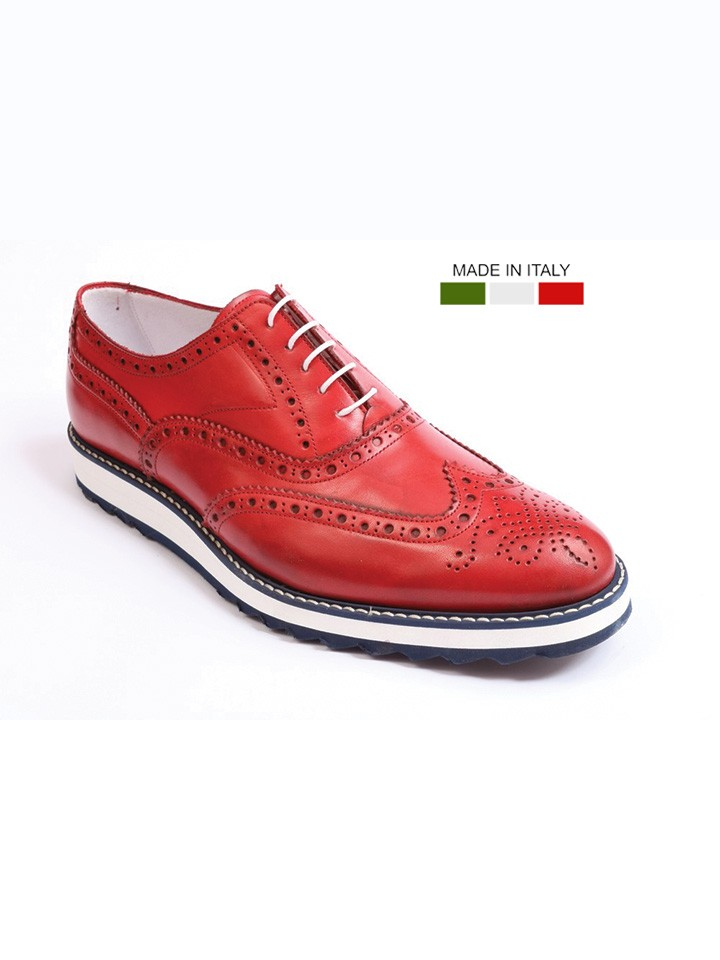 RUMFORD 52320-23 RED FLORSHEIM ITALY