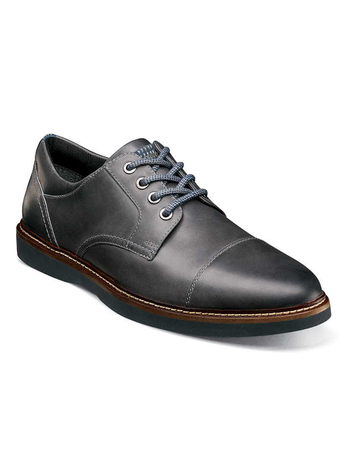 RIDGETOP CAP TOE OXFORD CHARCOAL NUNN BUSH